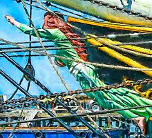 Stad Amsterdam - Figurehead by © Helen Chierego