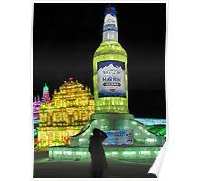 Ice City, Harbin, China Poster