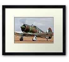 Boomerang Fighter Framed Print