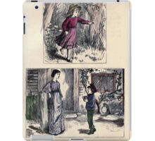 The Little Folks Painting book by George Weatherly and Kate Greenaway 0055 iPad Case/Skin