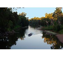 PADDLING THE MACQUARIE Photographic Print