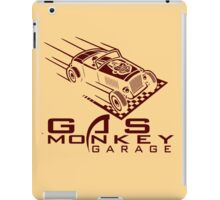 gas monkey garage retro funny iPad Case/Skin