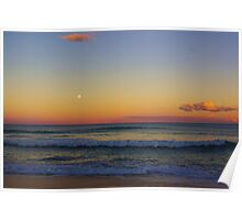 Old Bar Beach Sunset Poster