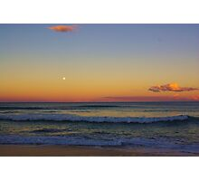 Old Bar Beach Sunset Photographic Print