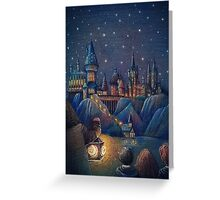 Hogwarts Fairytale Greeting Card
