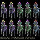 American Pharoah Pop Art by EyeMagined