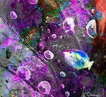 Blowing Kisses by Angela  Burman
