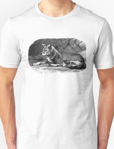 Black and white illustration of the Dingo T-Shirt