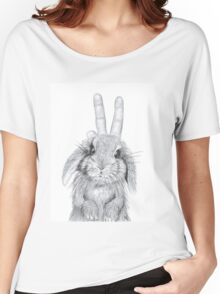 bunny ears! Women's Relaxed Fit T-Shirt