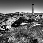 Lone Pillar - The lonely pillar at Bradleys Head by dahon