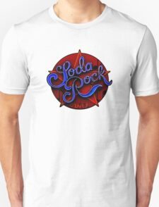soda rock diner retro neon sign  T-Shirt