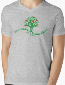 Tree hugger Mens V-Neck T-Shirt