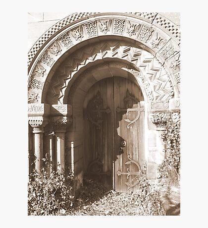Kirk of St Medana Photographic Print