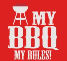 My BBQ, my rules One Piece - Short Sleeve