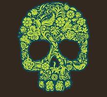 Flowery Skull Unisex T-Shirt