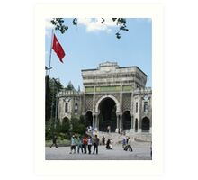 Istanbul University-TURKEY Art Print