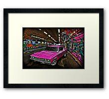Pink Pimp Chev Framed Print