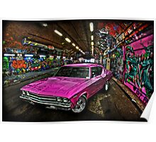 Pink Pimp Chev Poster