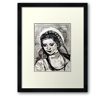 Mother Mary-Let It Be Framed Print