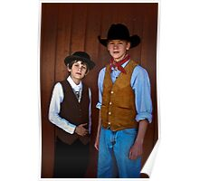 Young Cowboys Poster
