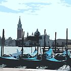 Venice Ritaglio by Sheila Laurens