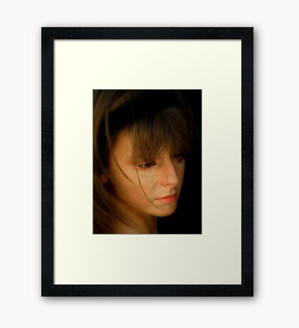 The Thought Of You Framed Print