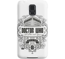 Doctor Who All the Time and Space Vintage Samsung Galaxy Case/Skin