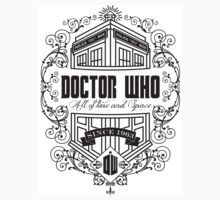 Doctor Who All the Time and Space Vintage T-Shirt