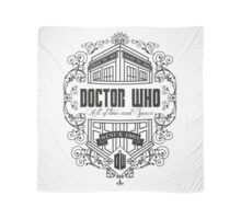 Doctor Who All the Time and Space Vintage Scarf
