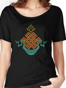 Buddhist Endless Knot Women's Relaxed Fit T-Shirt
