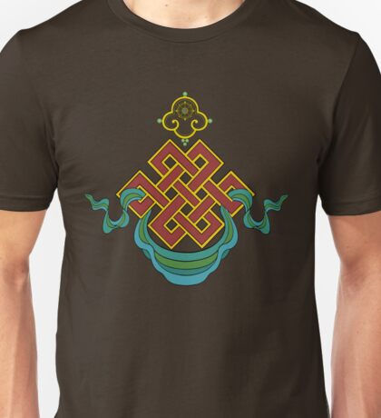 Buddhist Endless Knot Unisex T-Shirt