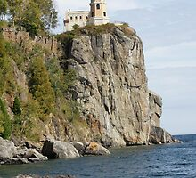 """ Split Rock Light House "" by frogwithwings"