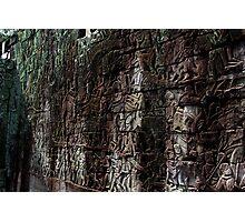 Reliefs at Prasat Bayon - Angkor, Cambodia. Photographic Print