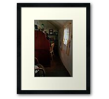 Ackermanns Cottage Study Framed Print