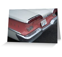 Edsel Backend Greeting Card