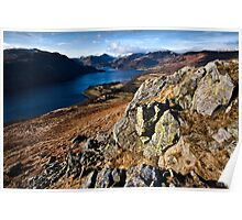 Morning views from Green hill fell Poster