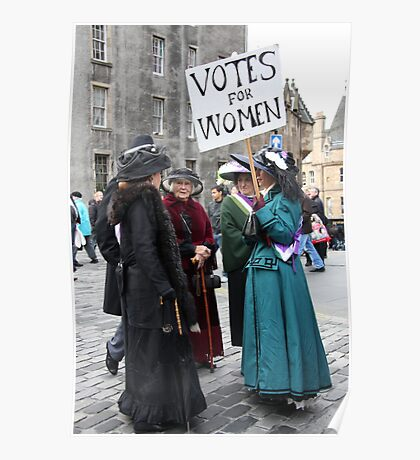 Votes for Women ! Poster