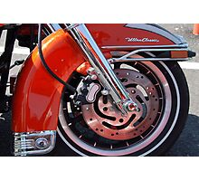 Harley Ultra Classic Photographic Print