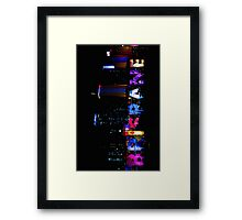Brisbane Sign (vertical) Framed Print