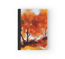 The Trees-Autumn Hardcover Journal