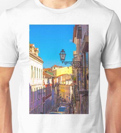 Príncipe Real. Rua Manuel Bernardes Unisex T-Shirt