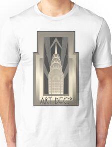 Art Deco Chrysler Building Unisex T-Shirt