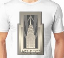 Art Deco Chrysler Building Unisex T-Shirt