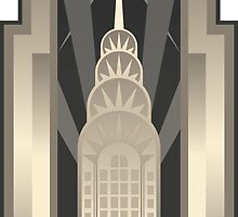 Art Deco Chrysler Building by SHTTT