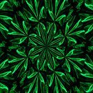 Emerald Petals Kaleidoscope by MaeBelle