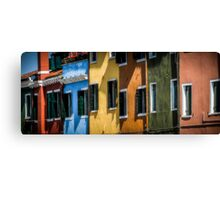 Colourful Burrano Canvas Print