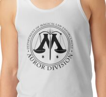AUROR DIVISION Seal - black - (Harry Potter) Tank Top