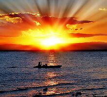 Joyful Sunset by Shannon Rogers