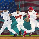 Baseball Art - 2001 A Year of Heroes - For Sale at EsportsArt.com by esportsart