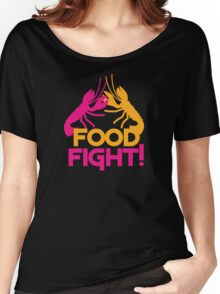 Food Fight with lobsters Women's Relaxed Fit T-Shirt